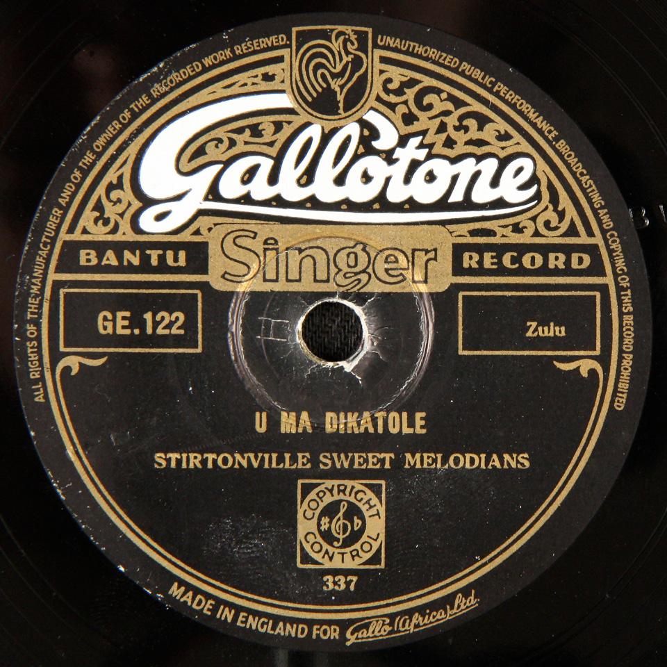 Stirtonville Sweet Melodians - U Ma Dikatole / U Ma Gumene