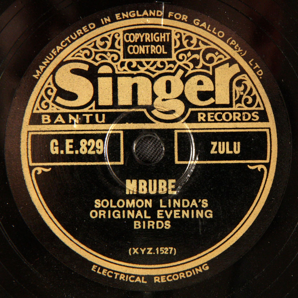 Solomon Linda's Original Evening Birds - Mbube / Ngi Hambiki