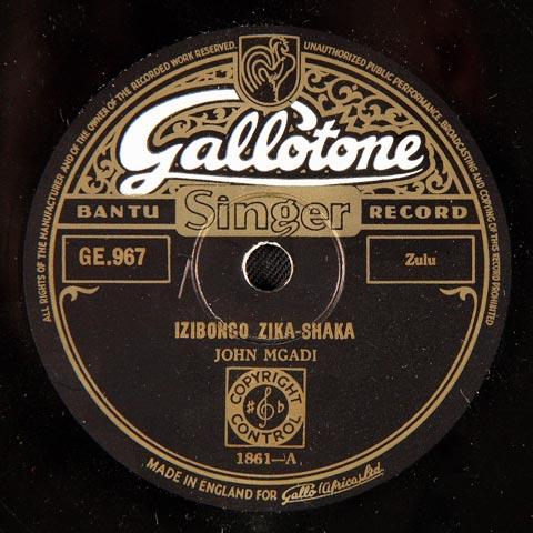John Mgadi - Izibongo Zika-Shaka / Izibongo Zika-Dingana