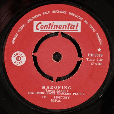 Malombo Jazz Makers Plus 2 - Maroping / Malombo Messengers