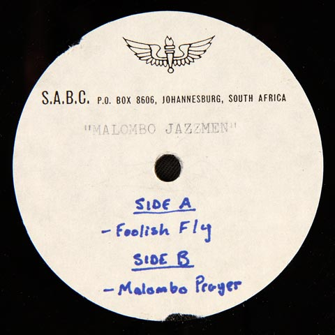 Malombo Jazz Men - Foolish Fly / Malombo Prayer