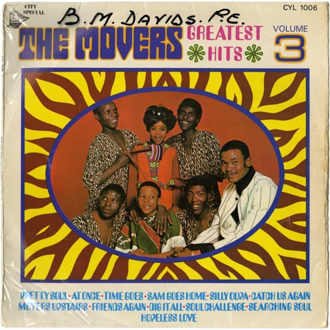 The Movers - Greatest Hits Volume 3