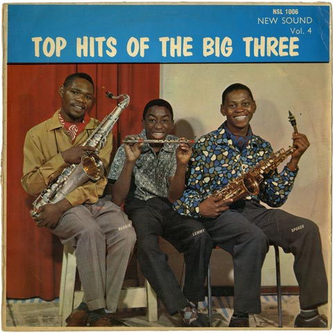 Various Artists - Top Hits of the Big Three - New Sound Vol. 4