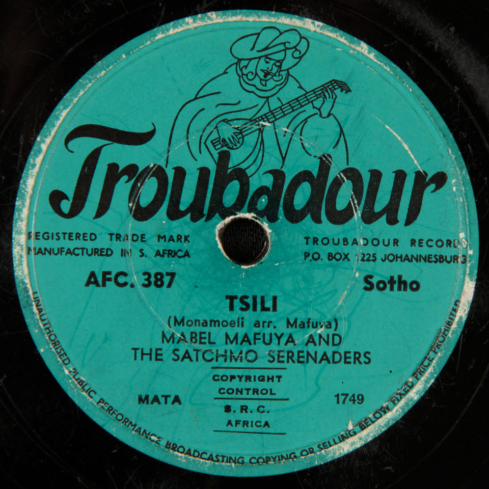 Mabel Mafuya and the Starlight Serenaders - Tsili / Satchmo Special