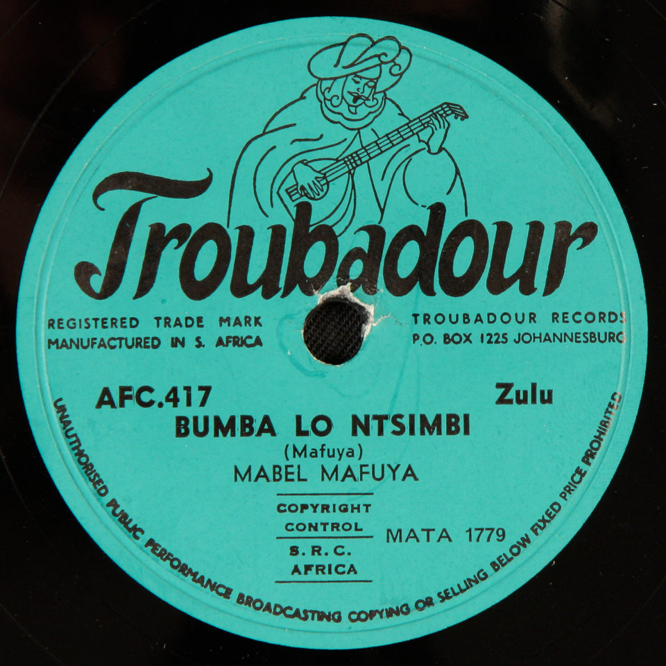 Mabel Mafuya - Bumba Lo Ntsimbi / Ungibalele