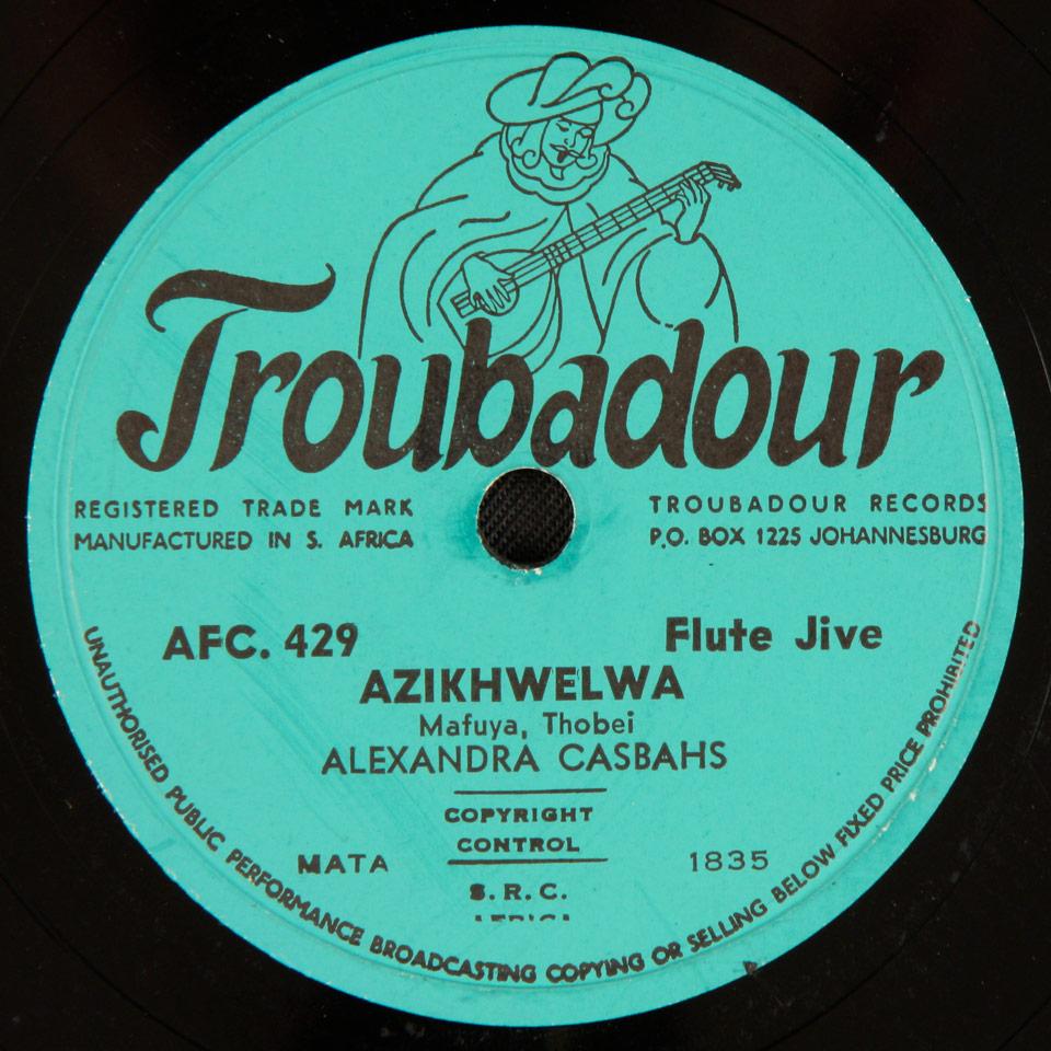 Alexandra Casbahs - Azikhwelwa / Alexandra Special
