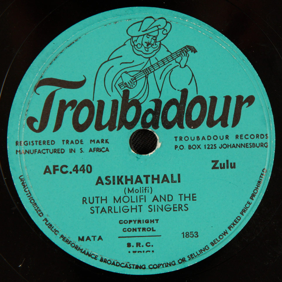 Ruth Molifi and the Starlight Singers - Asikhathali / Mfana