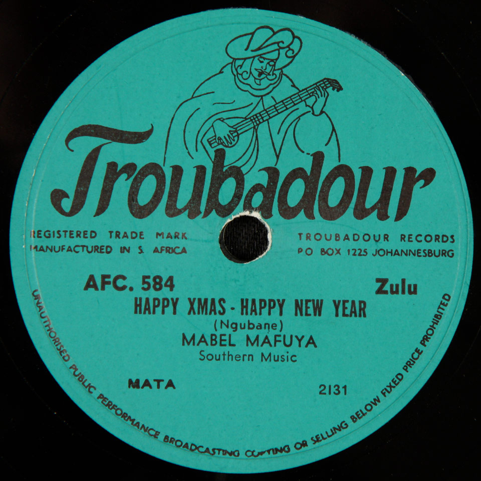 Mabel Mafuya - Happy Xmas - Happy New Year / Jabulani Xmas