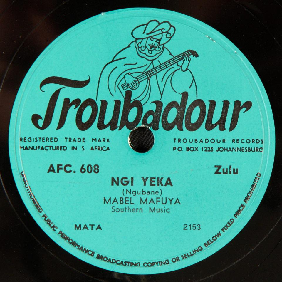 Mabel Mafuya - Ngi Yeka / Itlalo Ya Lizwe