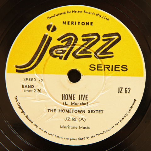 The Hometown Sextet - Home Jive / Mamelodi