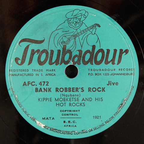 Kippie Moeketsi and his Hot Rocks - Bank Robber's Rock / Stick Up Rock