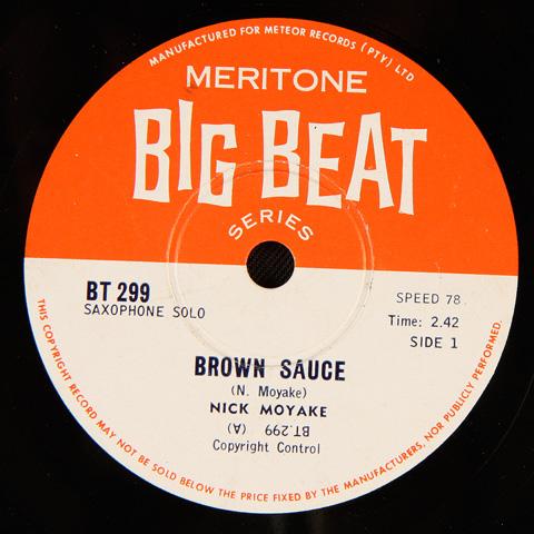 Nick Moyake - Brown Sauce / Shabzaza