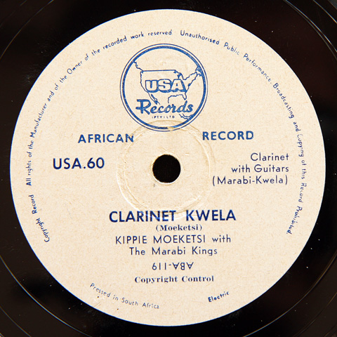 Kippie Moeketsi and the Marabi Kings - Clarinet Kwela / Goli Kwela