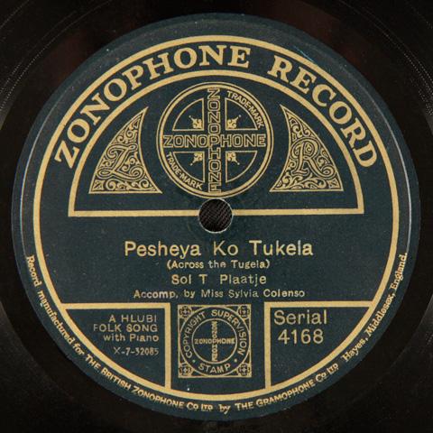 Sol T. Plaatje - Pesheya Ko Tukela / Nkosi Sikelel iAfrika / Singa Mawela