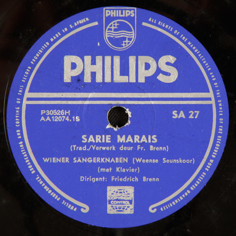 Vienna Boys Choir - Sarie Marais / Die Stem van Suid-Afrika