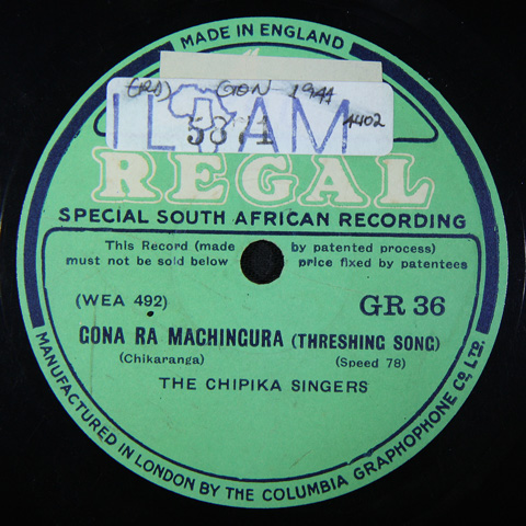 The Chipika Singers - Gona Ra Machingura / Kampini Ka I Gara Shuro